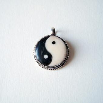 Pendant - Silver Yin Yang M
