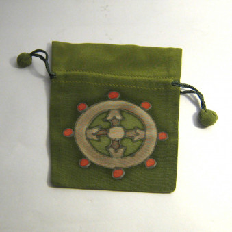 Silk bag M, with luck symbols / 10-Pack