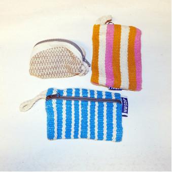 Silk bag M, with luck symbols