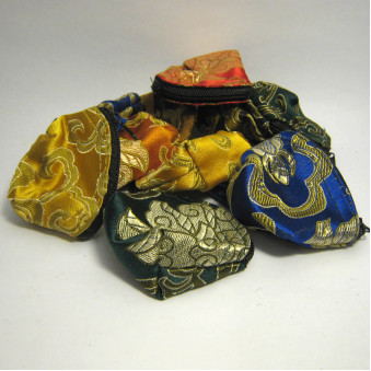 Brocade - bag S, with zipper / 10-Pack