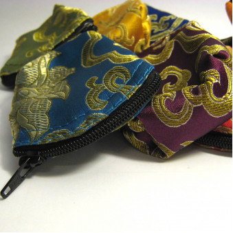 Brocade - bag M, with zipper / 10-Pack
