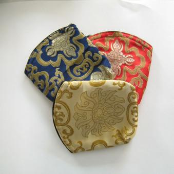 Brocade bag XL, brocade bag with zipper / 10-Pack