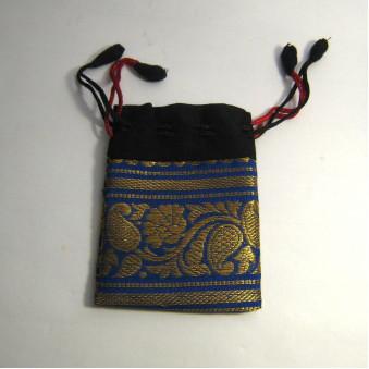 Brocade bag M, brocade bag square / 10-Pack