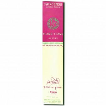 Faircense Faircense Incense Ylang Ylang 100% natural ingredients and pure essences, hand-rolled using Masala method, Auroville India / 10-Pack