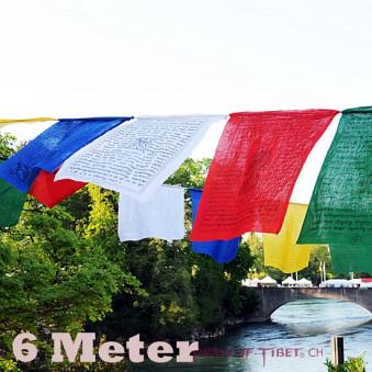 Prayer flags 6 meters / 5-Pack