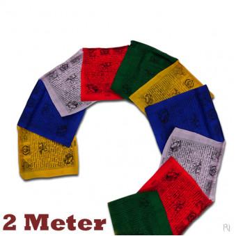 Prayer flags 2 meters / 5-Pack