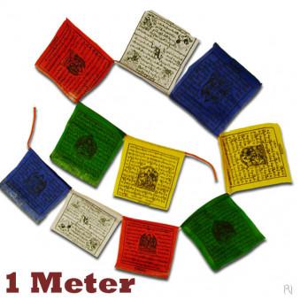 Prayer flags 1 meter / 5-Pack