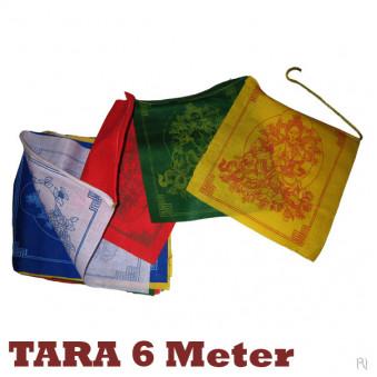 Prayer flags TARA 6 meters / 5-Pack