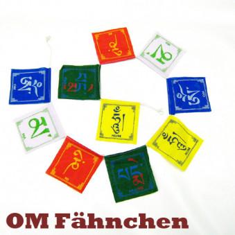 Prayer flags OM flag / 5-Pack
