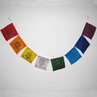 Prayer flags mini flags / 5-Pack