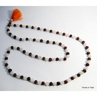 Prayer beads Mala with MS Rudrakhasha fruit / 2-Pack