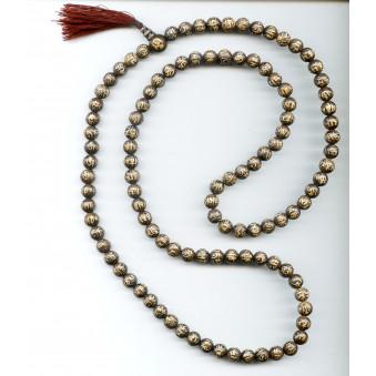 OM Prayer Beads Seashell - OM XL / 2-Pack