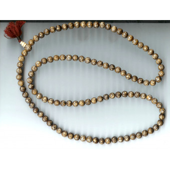 OM Prayer Beads Seashell - OM XXL / 2-Pack