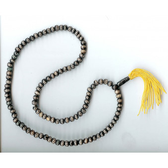 Prayer chain leg decorated with carved strokes / 2-Pack