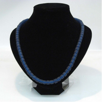 Glass strands glass strand blue matt