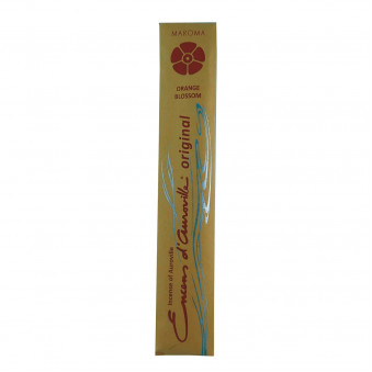 Encens d'Auroville Encens d'Auroville Incense Orange blossoms contain exquisite natural ingredients and essences, rolled by hand, Auroville India / 10-Pack