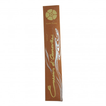 Enclos d'Auroville Encens d'Auroville Incense Ylang Ylang contains exquisite natural ingredients and essences, rolled by hand, Auroville India / 10-Pack