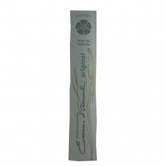 Encens d'Auroville Encens d'Auroville Incense Sticks Snow Musk contain exquisite natural ingredients and essences, rolled by hand, Auroville India / 10-Pack