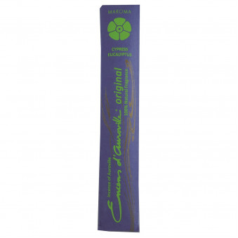 Encens d'Auroville Encens d'Auroville Incense Roses Lavender Rosemary contains exquisite natural ingredients and essences, rolled by hand, Auroville India / 10-Pack