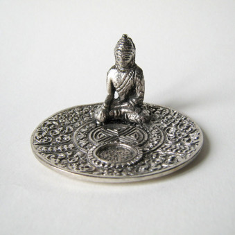 Incense Stand Dish with Buddha / 5-Pack