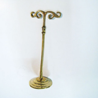 Incense - holder brass stand for Shanti cords / 5-Pack