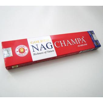Nag Champa Golden 15 g / 12-Pack