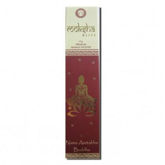 Meditation Incense Moksha (Namo Amitabha Buddha) / 12-Pack