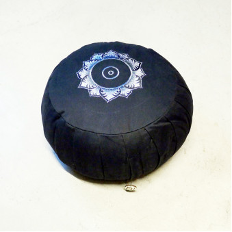 Meditation Cushion, Lotus, black / 2-Pack