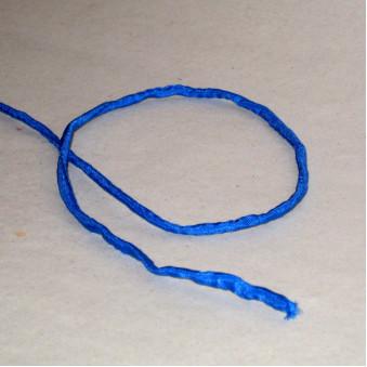 Silk ribbon navy blue / 5-Pack