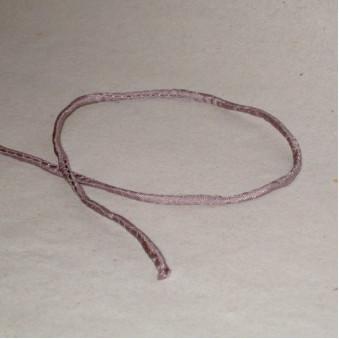 Silk ribbon Mauve / 5-Pack