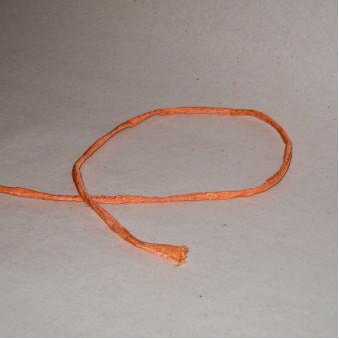 Silk ribbon orange / 5-Pack