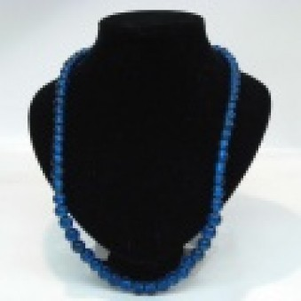 Glass strands glass strand blue
