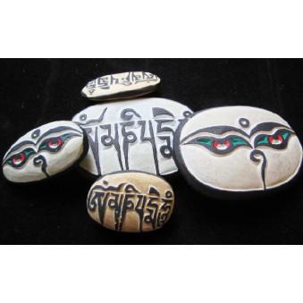 Meditation Mani stone / 5-Pack